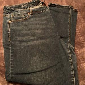 Lane Bryant Super Stretch Skinny Jeans (22WS)